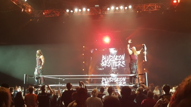 And STILL your Smackdown live Tag-Team-Champions: The Bludgeon Brothers!